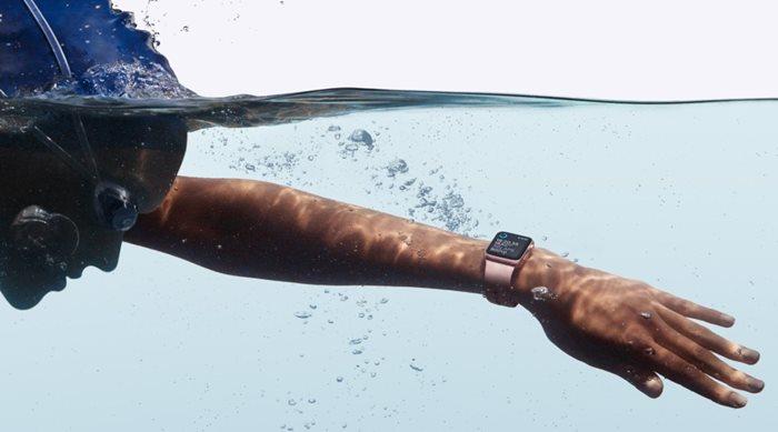 Σωστή συντήρηση του Apple Watch Series 2 μετά από βρέξιμο