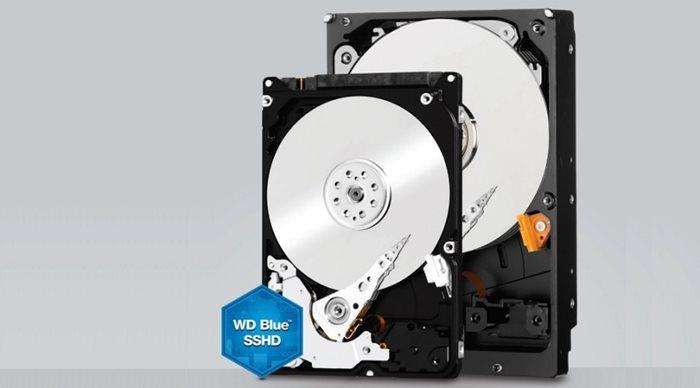 Western Digital Blue hybrid drives