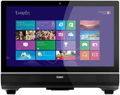 Quest All-in-One Touch PCs