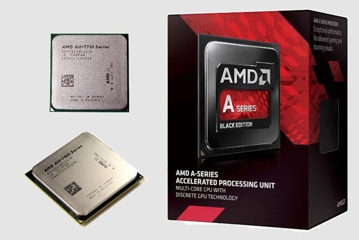 AMD A10 7700K & 7850K Black Edition APUs