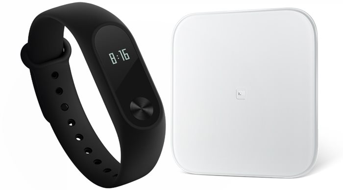 Xiaomi Mi Band 2 & Mi Smart Scale