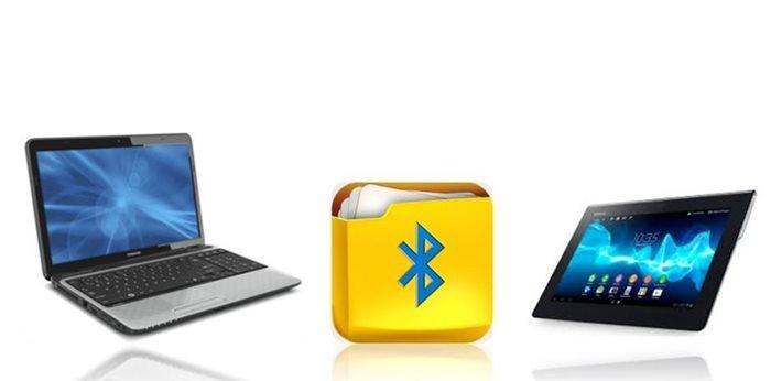 Μεταφορά αρχείων μεταξύ tablet και PC μέσω Bluetooth