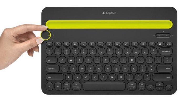 Keyboard Logitech K480 Multi-Device