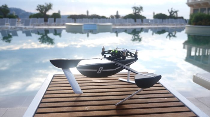 Parrot Mini Drone Hydrofoil Orak & NewZ