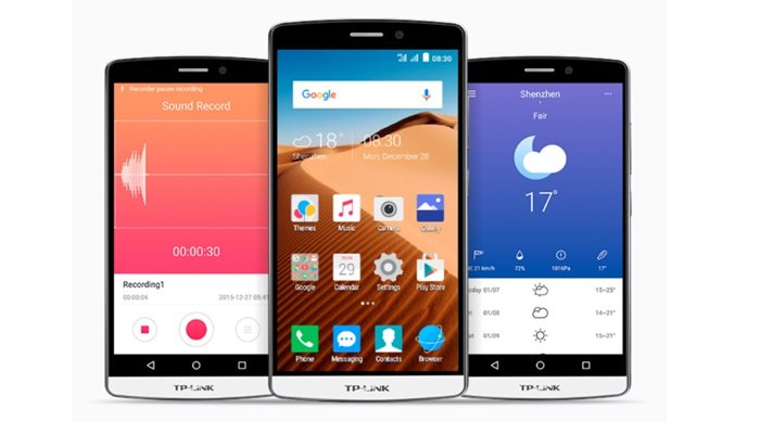 TP-Link Neffos smartphones