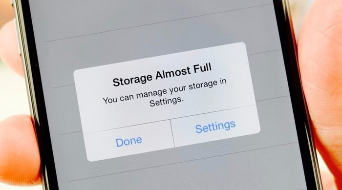 Ελευθερώστε χώρο από τη μνήμη ενός iPhone