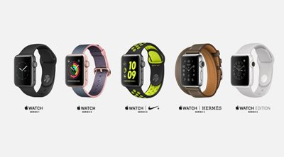 Apple Watch Series 1 και Apple Watch Series 2: Γνωρίστε τα πιο «έξυπνα» ρολόγια