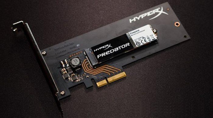 Kingston HyperX Predator PCIe SSD 240GB