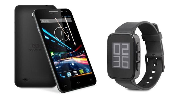 GoClever Quantum 500 smartphone & Chronos Eco smartwatch
