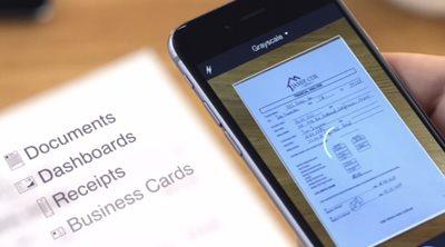Μετατρέψτε εύκολα το smartphone ή το tablet σε scanner
