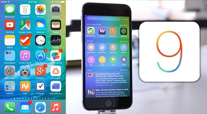 Apple iOS 9 & 9.1 update