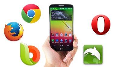 Οι 5 καλύτεροι και δωρεάν browsers για Android