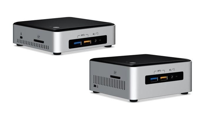 Intel NUC με επεξεργαστές 6ης γενιάς Skylake