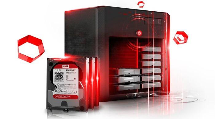 Western Digital Red Pro WD6002FFWX & WD4002FFWX